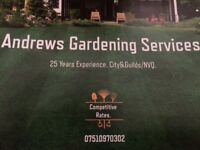 Andrews Gardening services
