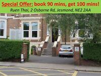 ●Ruen Thai Massage: Special Offer, Jesmond, Newcastle●