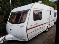Coachman Amara 450/2 2 berth caravan 2003, VGC,Awning, light to tow, Bargain !
