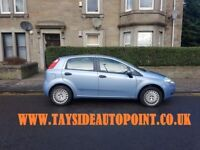 FIAT PUNTO 1.2, LOW MILES, FULL 1 YEARS MOT, REDUCED NOW ********* £1495