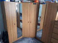 Corner wardrobe - good condition