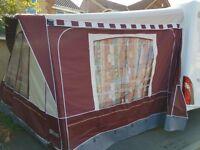Size 15 caravan awning
