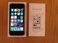 iPhone 5s in Silver on vodaphone network