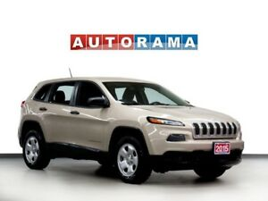 2015 Jeep Cherokee Sport 4x4 Bluetooth