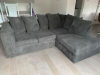 NEW FULL JUMBO CORDED BYRON CORNER SOFA OR 3+2 SOFA SEATER AVAILABLE NOW IN STOCK