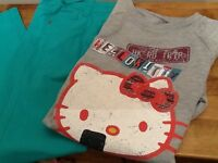 Hello Kitty Sweatshirts & Matching skinny jeans