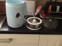 Magi mix juicer duck egg blue excellent condition