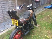 2014 HN125-8 RAT BIKE, learner legal, 125cc