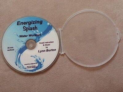 Energizing Splash Water Aerobic Workout Aqua Exercise CD NEW aquatic fitness