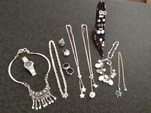 Silver and costume jewellery Marmong Point Lake Macquarie Area Preview