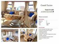 CHEAP STATIC CARAVAN - NORTHUMBERLAND - LOW SITE FEES - LOW DEPOSIT & MONTHLY PAYMENTS- CALL CARLY