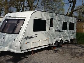 Elddis crusader storm twin axle, immaculate condition