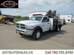 2012 Dodge Ram 5500 SLT Picker Crane