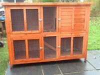 Large Rabbit Hutch, Nearly New