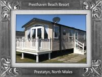 ROBINSONS: PRESTHAVEN BEACH RESORT, PRESTATYN, N.WALES: SLEEPS 7 MAX, DOG-FRIENDLY