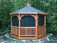 GAZEBOS | OUTDOOR GAZEBOS | BACKYARD GAZEBOS | GAZEBO