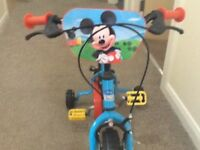 Starter Kids Bike Mickey Mouse