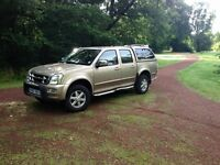 Isuzu Rodeo Pickup Automatic for sale 57 plate