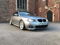 BMW 525d M Sport start/stop Individual tan leather etc