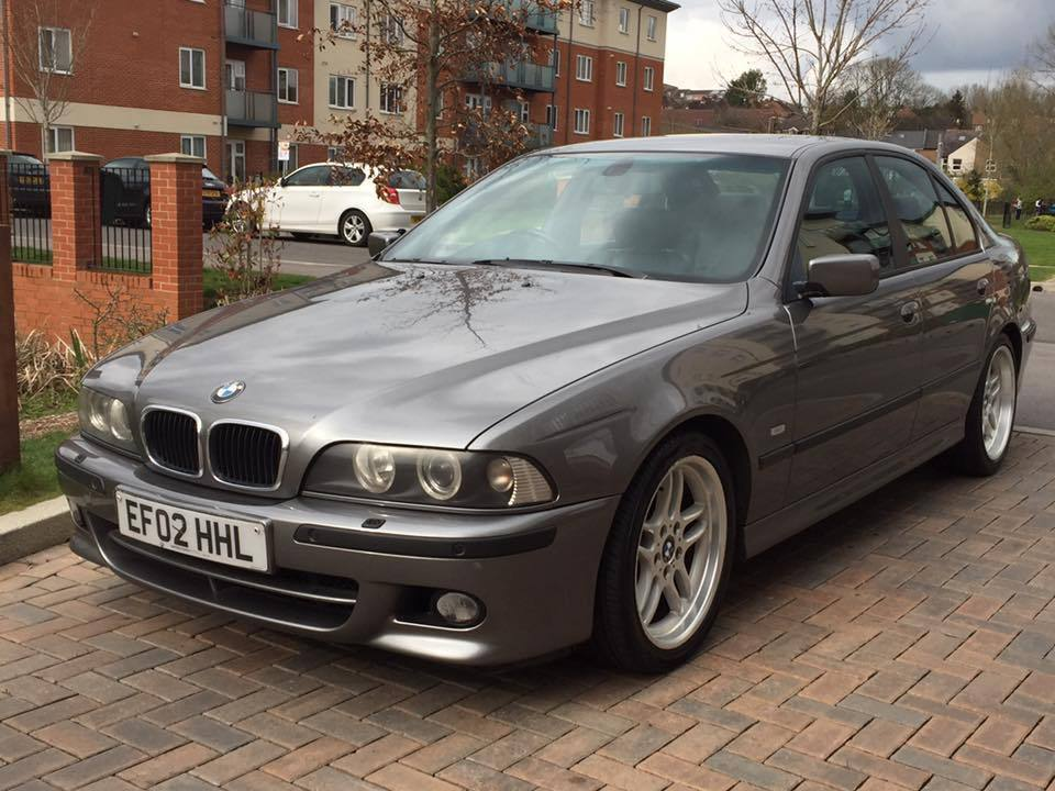 bmw e39 530d sport sterling grey full service history 18 diamond cut m paralells in high. Black Bedroom Furniture Sets. Home Design Ideas