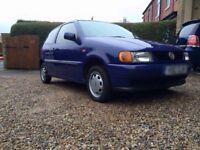 VW Polo 1999 Blue Ideal First Car