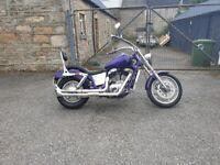 Custom Honda VT1100 *Purple Haze*/not a harley davidson