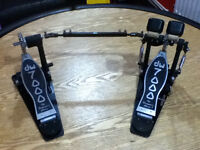 dw 7000 doible bass drum pedals