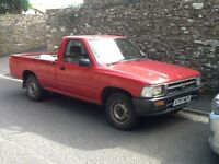 Pick up truck. One owner since 2001. Great vehicle with no issues other than paint work is tatty.