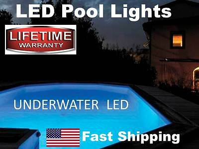 Swimming Pool Supplies - UNDERWATER Submersible Accent LED lights with remote