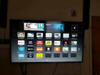"Panasonic 55"" smart led tv+ wall bracket"