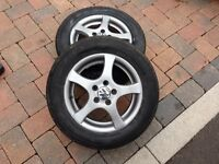 """SET OF 4 14"""" VW ALLOYS FOR SALE"""