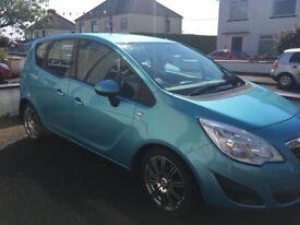 2011 Vauxhall Meriva 1.4 Petrol 76000 miles Long MOT 5dr MPV
