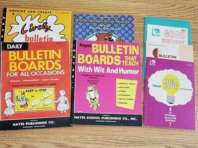 Lot of teacher -school bulletin board idea books - School Bulletin Board Ideas
