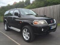 2003 Mitsubishi Shogun Sport 2.5 TD *Warrior*LOW MILES HIGH SPEC l200