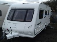 2008 elddis odyssey 524/4 berth end changing room fitted mover awning & extras
