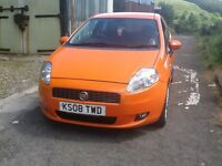 Fiat punto grande 1.4 sport 3dr ( reduced price £1000)