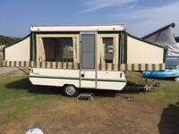 Conway tardis 6 burth folding trailer tent
