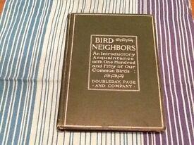 Bird neighbors..bird book for sale