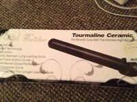 Proliss Twister Tourmaline Ceramic Curling Iron For Smooth Curls Ultimate Shine