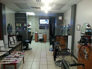 HAIR AND NAIL SALON BUSINESS FOR SALE DOWNTOWN MONTREAL