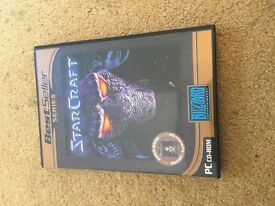 StarCraft (2 Disc set) - Expansion disc + Game disc - PC CD ROM