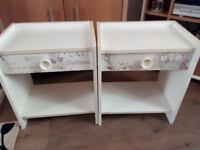 Retro bedside cabinets