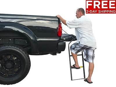 New Truck Tailgate Ladder Pickup Cargo Trucks Auto Accessories Free Shipping