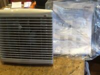 """Vent axia fan kit 6"""" through wall ducting and grilles XS6WA."""