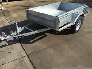 7x5 Hot Dipped Galvanised Rolled Body Trailer Adelaide Region Preview