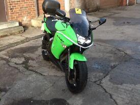 Kawasaki ER6F 9695 miles