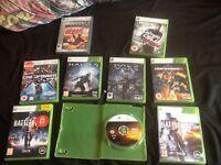 9 Xbox 360 games.