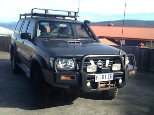 2003 Nissan Patrol ST GU lll 3.0 DT Howrah Clarence Area Preview