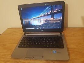 "HP Probook 430 Laptop, Intel Core i5 4300U, 8GB RAM, 128GB SSD, 13.3"", Webcam, Win 10"