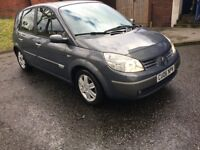 RENAULT SCENIC 1.4 DIESEL MOT 30/06/2019 READY TO GO CHEAP ON FUEL AND INSURANCE